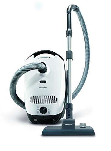 Miele Classic C1 PowerLine, White, Bagged, Cylinder Vacuum Cleaner, Corded,...