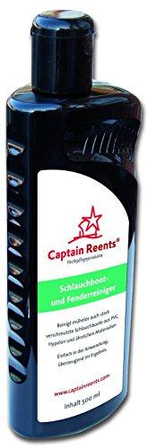 Captain Reents Schlauchboot und Fenderreiniger 500 ml | Inflatable Boat Cleaner | Reiniger mit UV-Schutz | geeignet für Hypalon, PVC, Kautschuk- und Vinylbooten | Längere Lebensdauer |