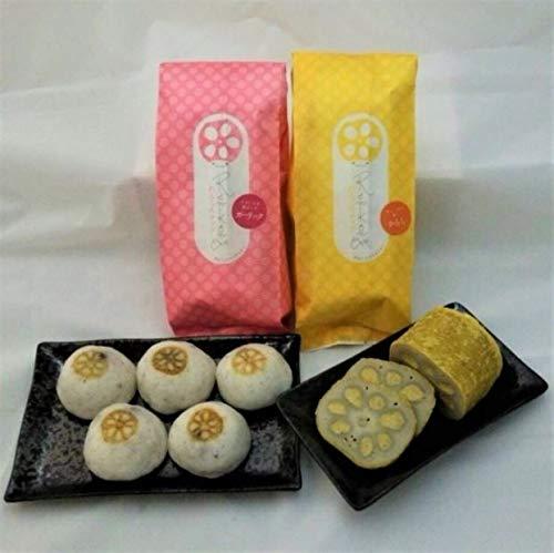れんこんギフトAセット 小田商店 熊本県産れんこんチップ 蓮根まんじゅう からし蓮根