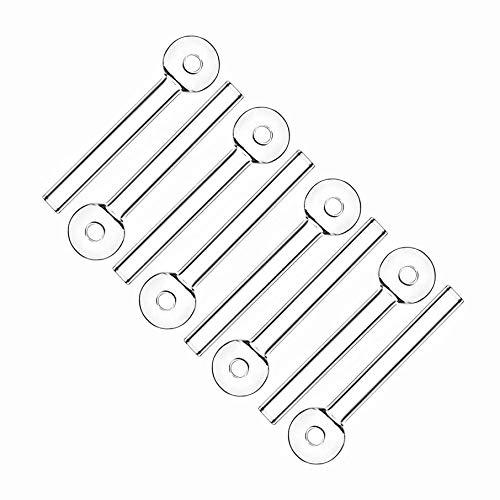 FGHS Thick Oil Lamp Handmade Burner Rod (8Pcs)