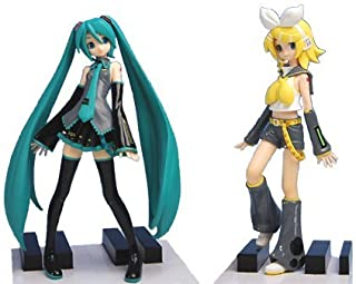 VOCALOID Hatsune Miku Hatsune Miku figure Extras & Kagamine Rin (Full set of 2) (japan import)