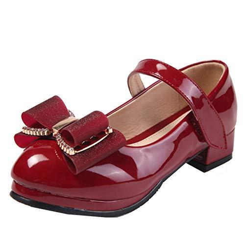 Zapatos de Vestir para niñas Zapatos de tacón bajo Casuales Bonitos de...