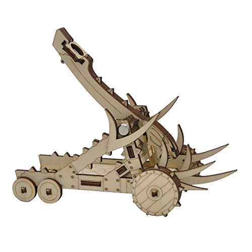 Catapult Miniature Wood Laser Cut Fantasy Siege Weapon Wargaming Terrain Perfect for D&D, Dungeons & Dragons, Pathfinder, Warhammer and Other Tabletop RPG