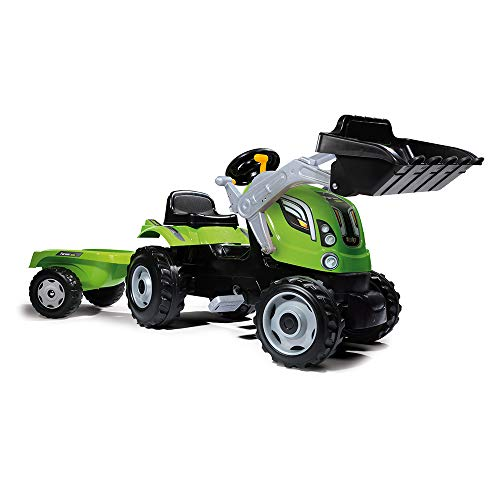 New Smoby 7600710109 Farmer Loader Ride On Tractor (X-Large)