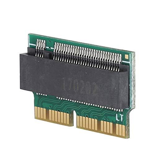 ASHATA Disco Duro a NVME SSD Adaptador Tarjeta de Concierto para 2013 2014 2015 Mac Book Air A1465 A1466 y para Macbook Pro A1398 A1502 SSD.