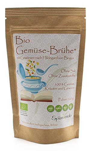 Spira Verde Bio Gemüse-Brühe Ohne Salz Ohne Glutamat (120g / 15 L)