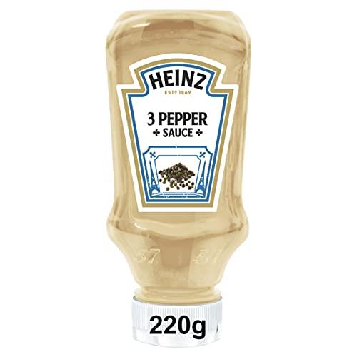 Heinz Salsa 3 Pimientas envase 220ml