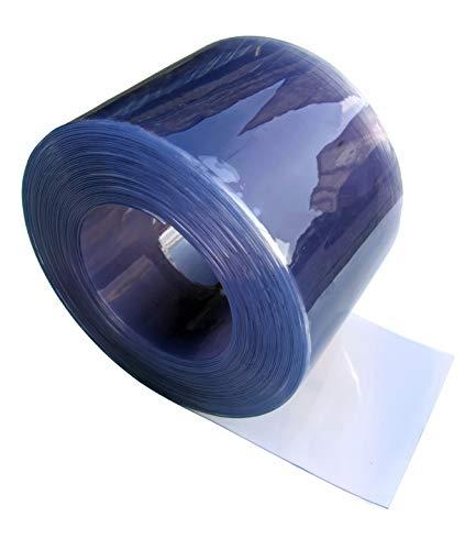 Duidelijke Flexibele PVC deurstrook/-gordijn - 300mm breed x 3mm dik - 10m rol
