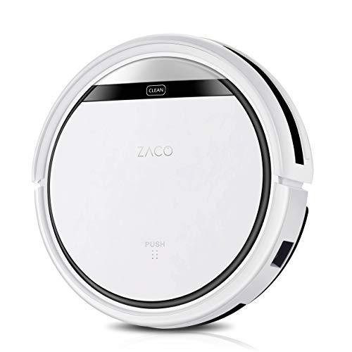 ZACO V3sPro Robot Aspirador,Auto-carga,Sin cepillo ideal para mascotas, Blanco