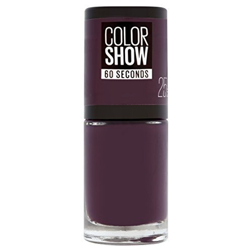 Maybelline New York Colorshow - Vernis à ongles -25 PLUM IT UP - Violet foncé