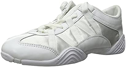 Nfinity Adult Evolution Cheer Shoes, White, 7