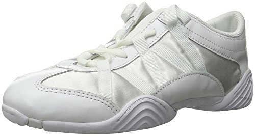 Nfinity Adult Evolution Cheer Shoes, White, 8.5