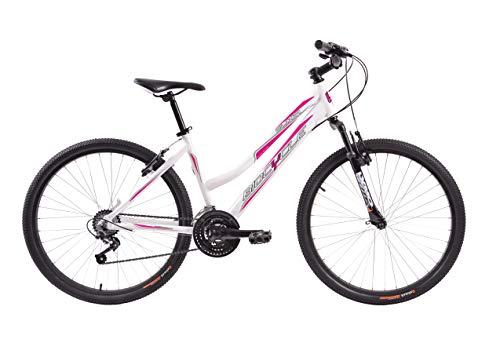 Biocycle Ellixir Lady 26' Bicicleta de Montaña, Mujer, Blanco, M