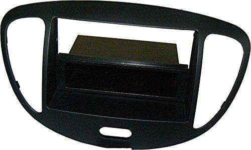 Mascherina autoradio 1 DIN Cassetto rimovibile. Colore NERO.