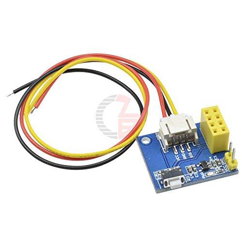 ESP8266 ESP-01 ESP-01S RGB LED Controller Module DIY DC 3.7V-5V 5V for Arduino IDE WS2812 Light Bar/Ring Smart Electronic