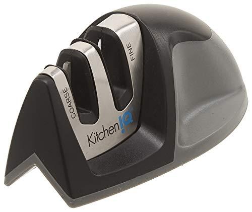 Kitchen IQ Edge Grip - Afilador de cuchillos (2 etapas)