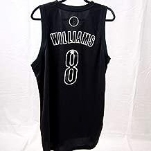 Deron Williams Brooklyn Nets Autographed Signed Black Jersey (Size XL) JSA