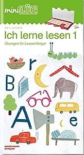 miniLÜK-Übungsheft. Ich lerne lesen 1: Fröhliche Übungen für Leseanfänger für Kinder von 5 - 7 Jahren