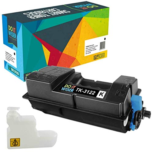 Do it Wiser Compatible Toner Cartridge Replacement for Kyocera TK-3122 Kyocera Ecosys FS-4200DN M3550idn 1T02L10US0 (Black, 2-Pack) Photo #2