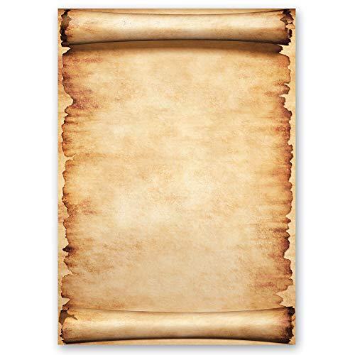 20 fogli di carta da lettera decorati PERGAMENA DIN A4