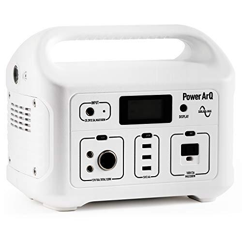 SmartTap ポータブル電源 PowerArQ スノーホワイト (626Wh/174,000mAh/3.6V/正弦波 100V 日本仕様) 正規保証2年 008601C-JPN-FS-WH