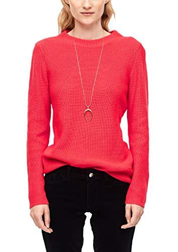 s.Oliver Damen 14.910.61.6238 Pullover, Orange (Coral 3214), (Herstellergröße: 38)