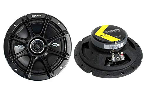 "Kicker 2-Way 6.75"" Coaxial Speakers (41DSC674 D Series)"