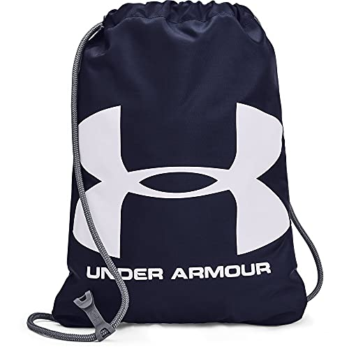 Under Armour UA Ozsee Sackpack, Mochila. Unisex Adulto, Midnight Navy Steel White, Einheitsgröße