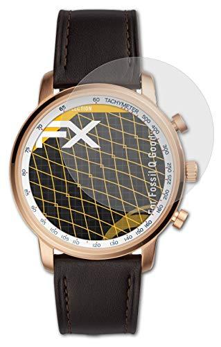 atFoliX Panzerfolie kompatibel mit Fossil Q Goodwin Schutzfolie, entspiegelnde & stoßdämpfende FX Folie (3X)