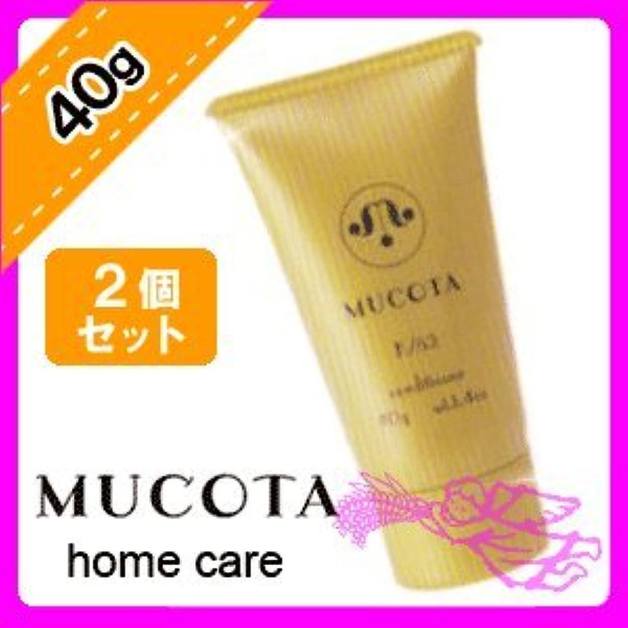 同じ契約する周囲ムコタ ホームケア コンディショナー K/52 40g × 2個 セット MUCOTA Home Care