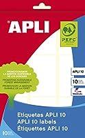 【APLI】 手書き角丸ラベル 9片 (AP-01650) [オフィス用品]