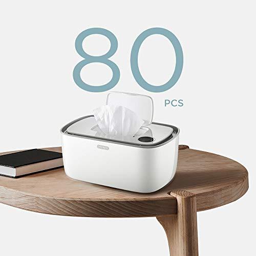 45 /° C ~ 55 /° C Mini Caja De Limpieza De Termostato Strawberry Calentador De Toallitas Port/áTil Y Dispensador De Toallitas H/úMedas para Beb/éS Calentador De Toallitas para Beb/éS