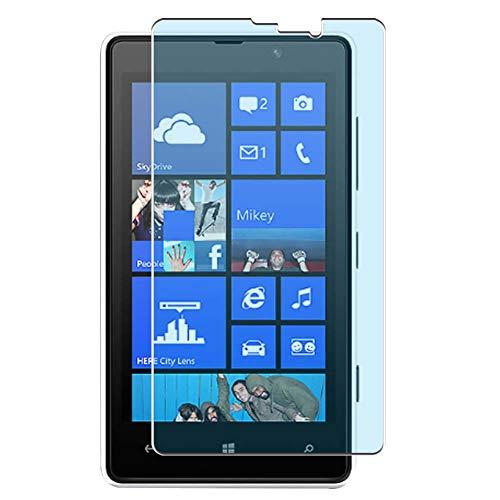 Vaxson 4-Pack Anti Luce Blu TPU Pellicola Protettiva, compatibile con NOKIA Lumia 820, Screen Protector Film [ Non Vetro Temperato ]