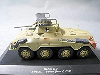 WWII SD KFZ.234/1 SOMME France 1/43 DIECAST Model Finished Tank