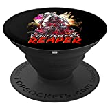 Don't Fear the Reaper Grim Reaper Scythe Horror Halloween PopSockets Grip and Stand...