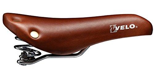 Sillin Retro Vintage Velo con Muelles y Remaches SingleSpeed para Bicicleta 3072