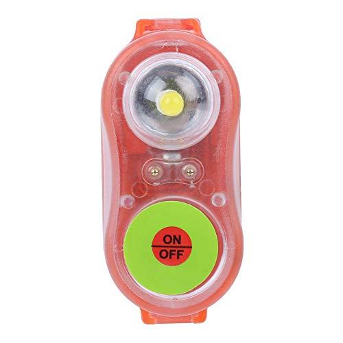BOLORAMO Chaleco Salvavidas Ligero, rentable Alta eficiencia Firme Impermeable Ahorro de energía Linterna Salvavidas con Apariencia novedosa para Piscina para Chaleco Salvavidas(Naranja)