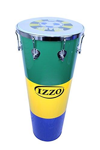 IZZO 9750 Aluminium mit WM Schlagzeugfell Timba