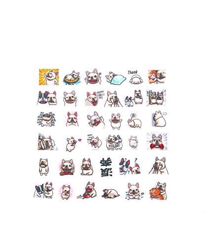 Nayothecorgi - Frenchie LINE Sticker Set