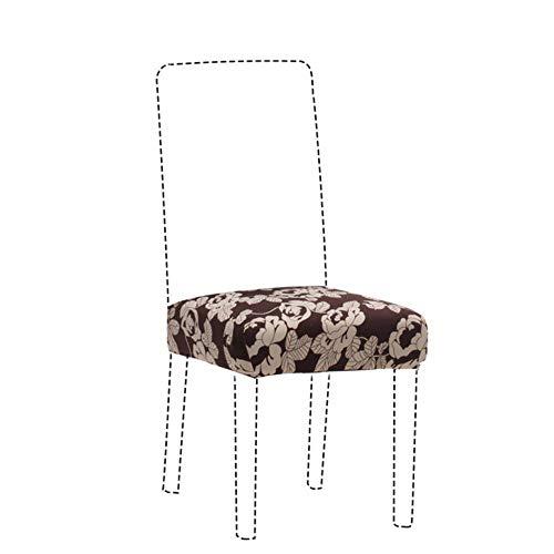 Afdrukken Stretch Stoelhoes Grote elastische stoel Stoelhoezen Schilderen Kussenovertrekken Restaurant Banket Hotel Antivuil Verwijderbaar, bloem, universele maat
