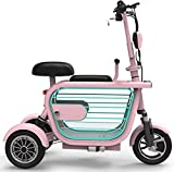 AA100 Folding electric tricycle, adult electric scooter, lightweight elderly disabled outdoor leisure electric