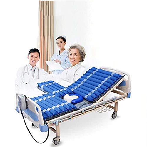 DMYY Anti-Dekubitus Matratze, Leises Dekubitus-Kit Alternierende Luftdruckmatratze Für Krankenhausbett, Bequem Und Faltbar Pflegehilfsmittel Matratzen 200 * 90 * 9CM