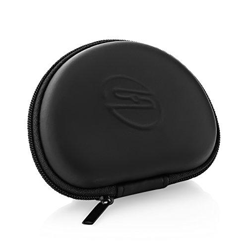 deleyCON SOUNDSTERS Universelle Kopfhörer-Tasche - Case für In-Ear Ohrhörer - Robuster Schutz für Unterwegs - integriertes Fach - für unzählige Kopfhörer passend