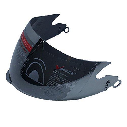 ILM 10 Colors Motorcycle Dual Visor Flip up Modular Full Face Helmet DOT (L, Matte Black)
