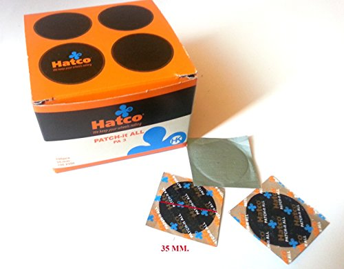 Parches para cubierta de neumaticos tubeless 35 mm. Reparacion pinchazos