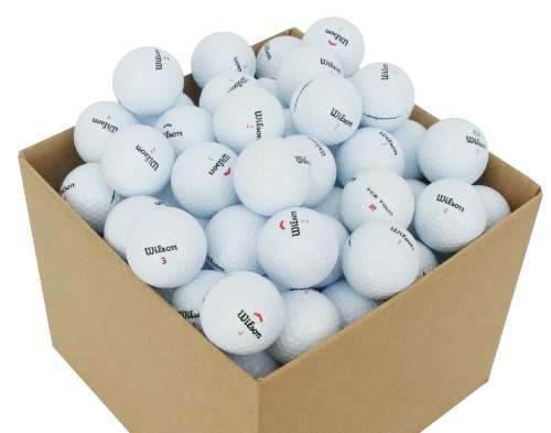 Bolas Golf Recuperadas Wilson Marca Second Chance