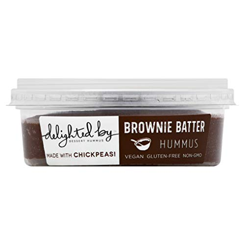 Delighted by Hummus Brownie Batter, 8 Ounce