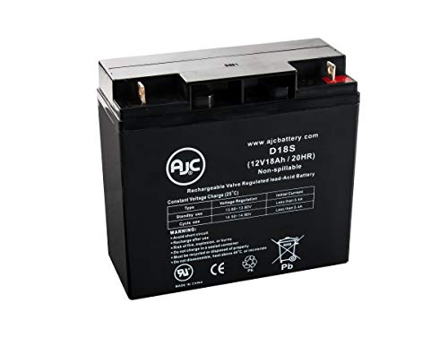 Batterie Fiamm 12FGH65 12V 18Ah UPS - Ce Produit est Un Article de Remplacement de la Marque AJC®