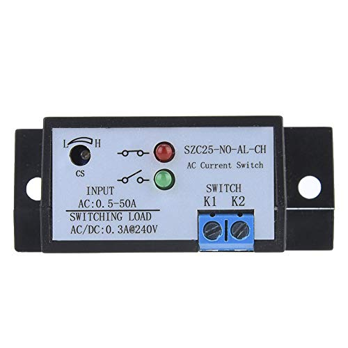 Interruptor de detección de corriente de larga vida útil de CA 0.5-50A duradero, interruptor de detección de corriente de autoalimentación, para dispositivo inversor de subestación