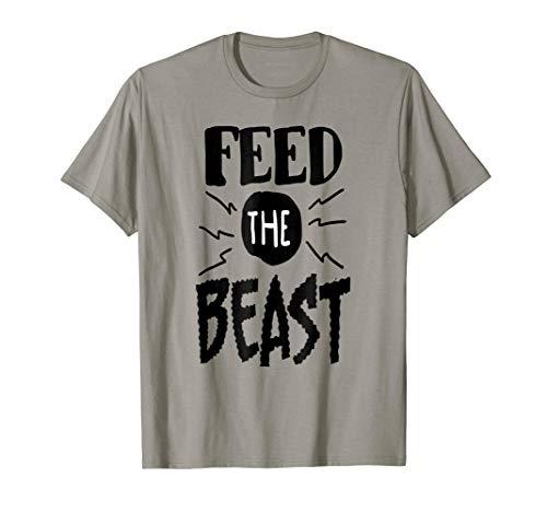 ORIGINAL Hustle Work Hard T-Shirt, FBA Feed The Beast Shirt